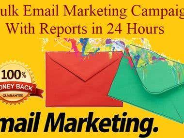 I Will Send Bulk Email Marketing, Bulk Email Blast, Email Ca