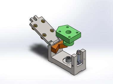 design vertical drilling jig