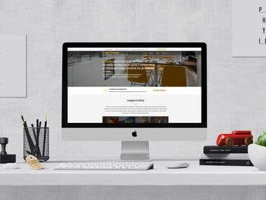 Webdesign for construction services