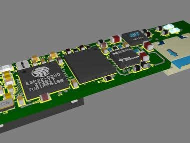 SYSTEM BOARD FOR WEARABLE SMART GLASSES