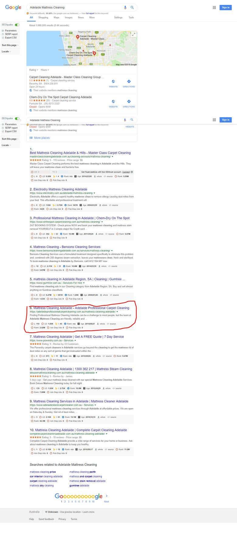 Google First Page Keywords Ranking | Freelancer