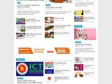 WordPress News Portal,PHP,jabaScript