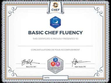Basic Chef Fluency Badge