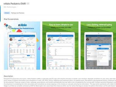 nAble Paediatric EMR