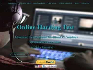 Online Harding Test