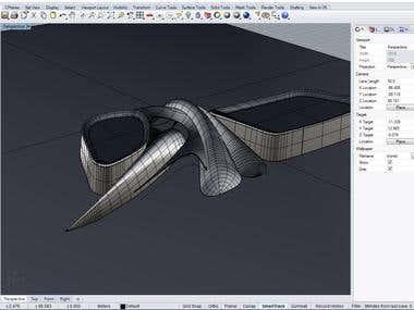 Modeling in Rhinoceros 3D