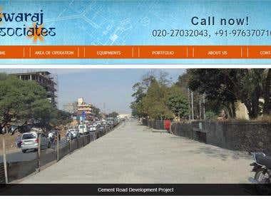 Constuction Company website