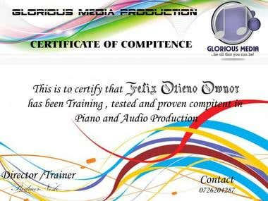CERTIFICATE OF COMPETENCE