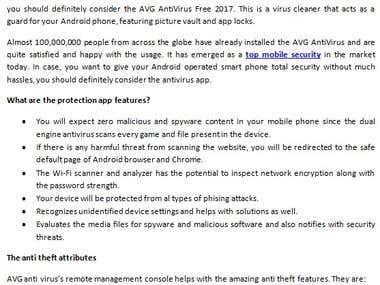 AVG Antivirus Free 2017: