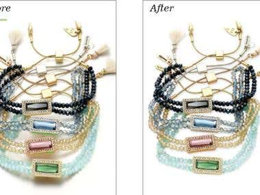 Image retouch Knockout background
