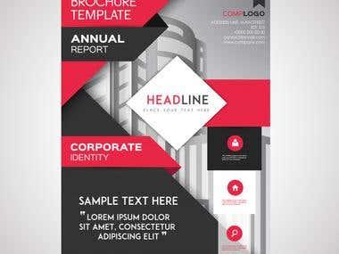 Brochure & Flyer design.