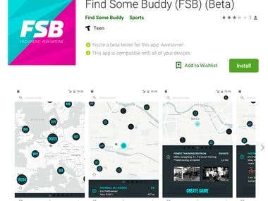 Find Some Buddy - Android Native Application