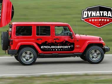 Design Vehicle Graphic for Jeep Wrangler