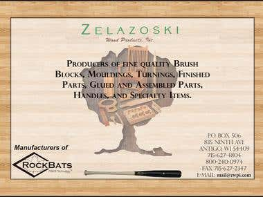 Zelazoski Wood Products Ad