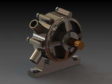 Rotary van pump