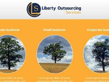 LOS home page design