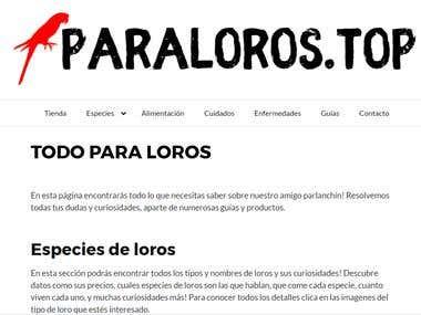 Bird's Store Management website menu repair