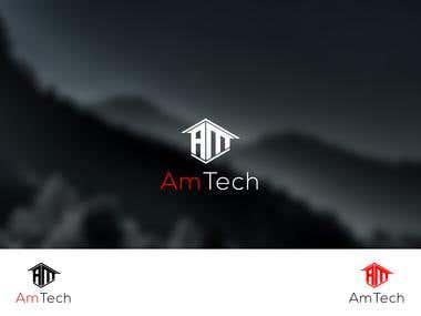 AmTech Logo Design