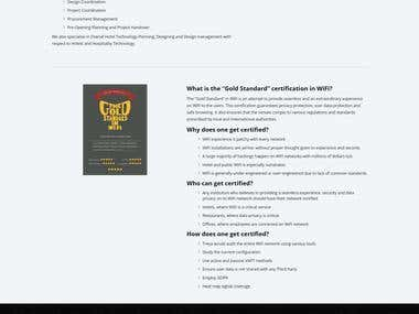 Treya Wireless Website Build