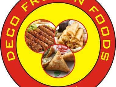 Logo Designing of Deco Frozen Foods