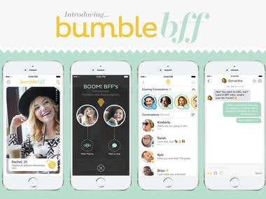 Bumble Fitness App