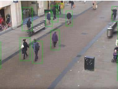 OpenCV - Body detection (Python)