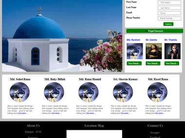 Design web page