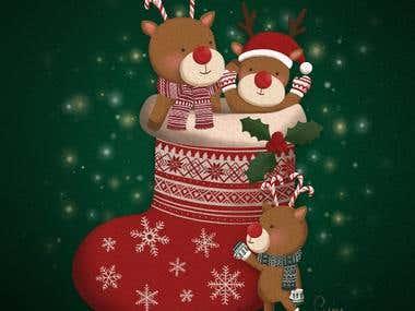 Christmas- Reindeer