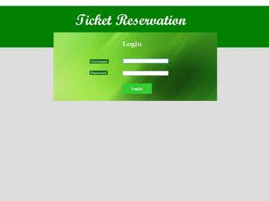 Ticket Reservation Sample Application