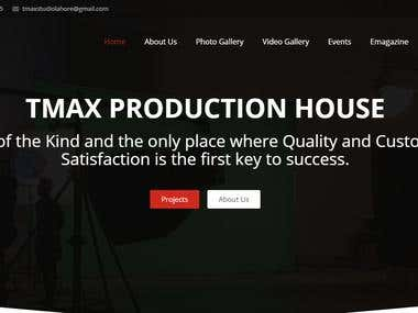Studio Website