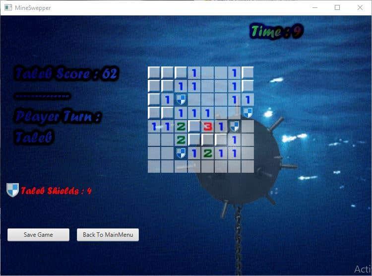Mineswepper Game using Java & JavaFX | Freelancer
