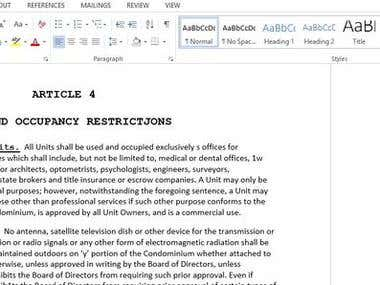 Data Entry PDF to MS Word