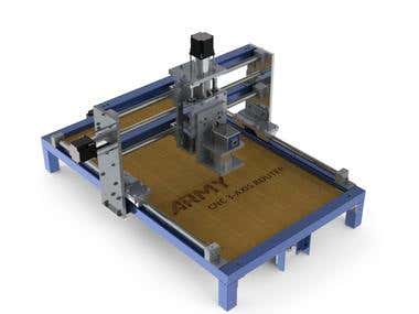 CNC 3 axis router