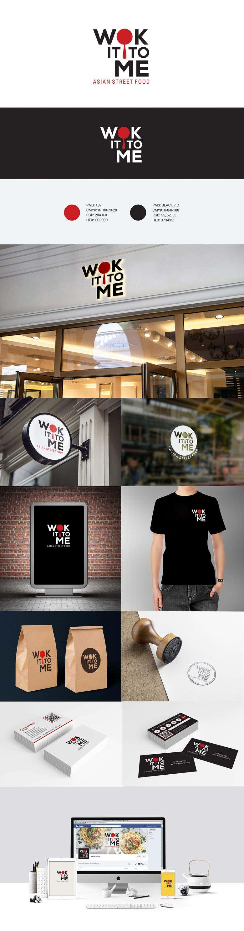 Wok It To Me Restaurant Logo Freelancer