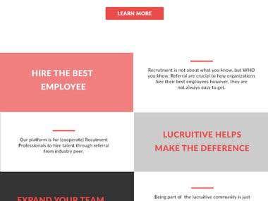 Job Referral Platform (lucruitive.com/lucruitive)