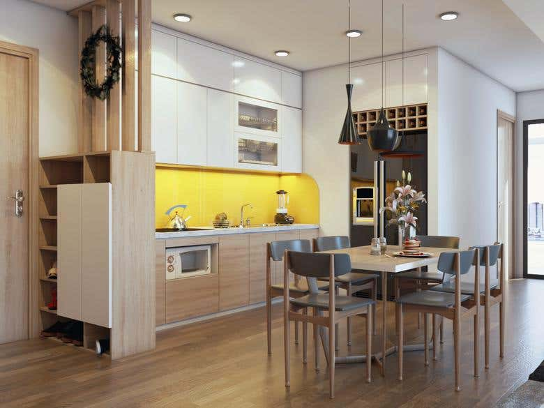 3d rendering by SketchUp and Vray   Freelancer