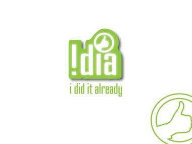 logo designed for IDIA