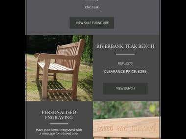 design custom email template