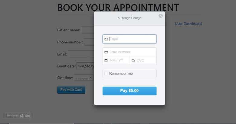 Appointment Scheduler | Freelancer