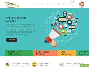 web design for e bulk marketing