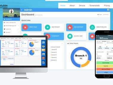 Web App For School CRM