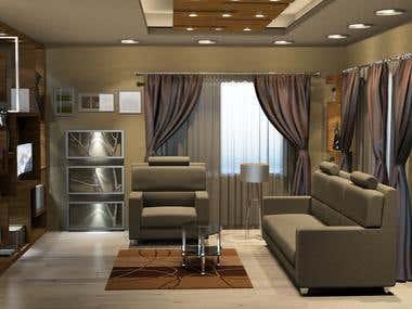 Interior Designe - Living Room