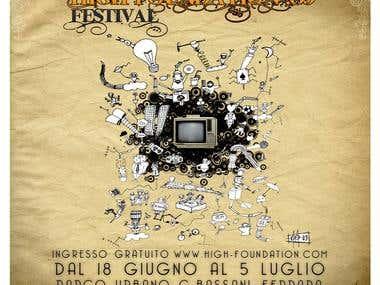 Flyer for an Italian Festival