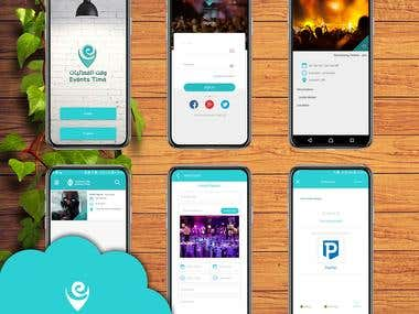 Events app & website
