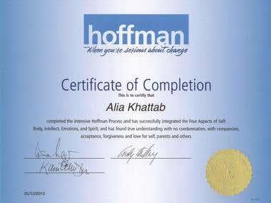 Hoffman Process Certification