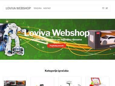 Toys Webshop