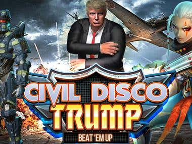 Civil Disco - Trump Beat 'Em Up