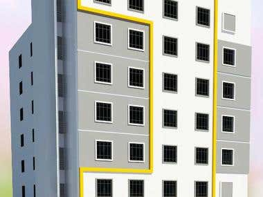 MODIFICATION OF EXISTING RESIDENTIAL COMMERCIAL AT ALKHUWAIR