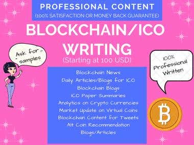 Blockchain Content