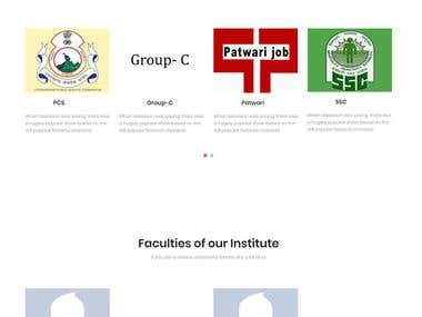 Jeet Ias (Educational Website using HTML and Bootstrap)